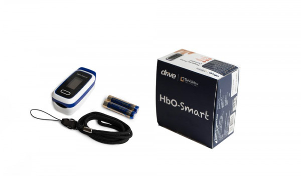 Devilbiss drive HbO-Smart Fingerpulsoximeter, Finger Pulsoximeter, Oximeter O2